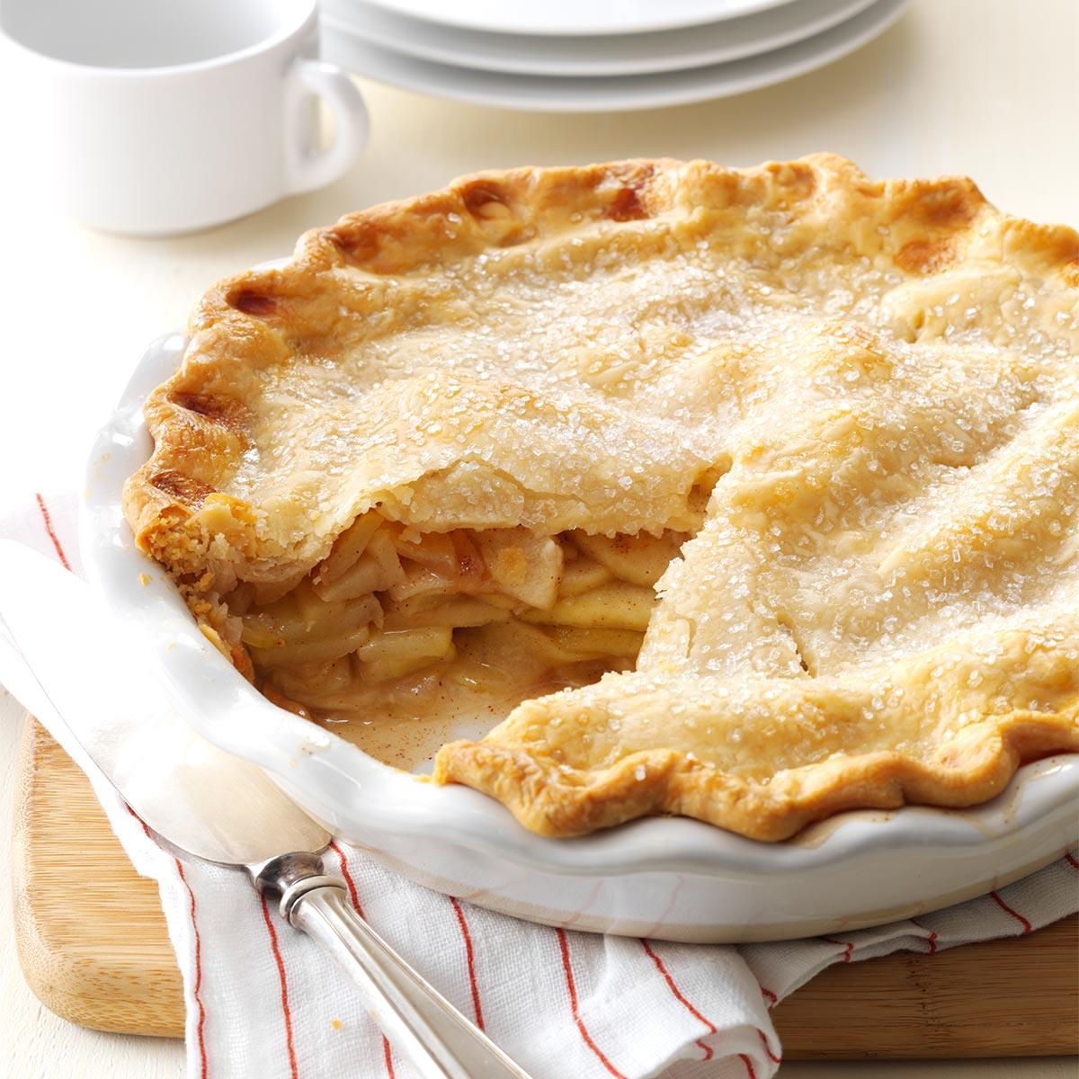 Apple Pie Recipe | Taste of Home