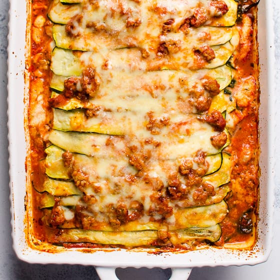 Zucchini Lasagna (VIDEO) - iFOODreal - Healthy Family Recipes
