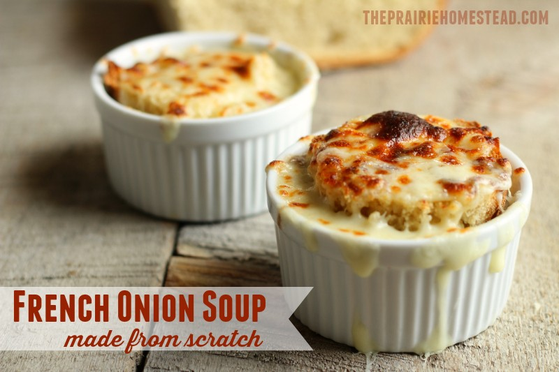 Best French Onion Soup Recipe | The Prairie Homestead