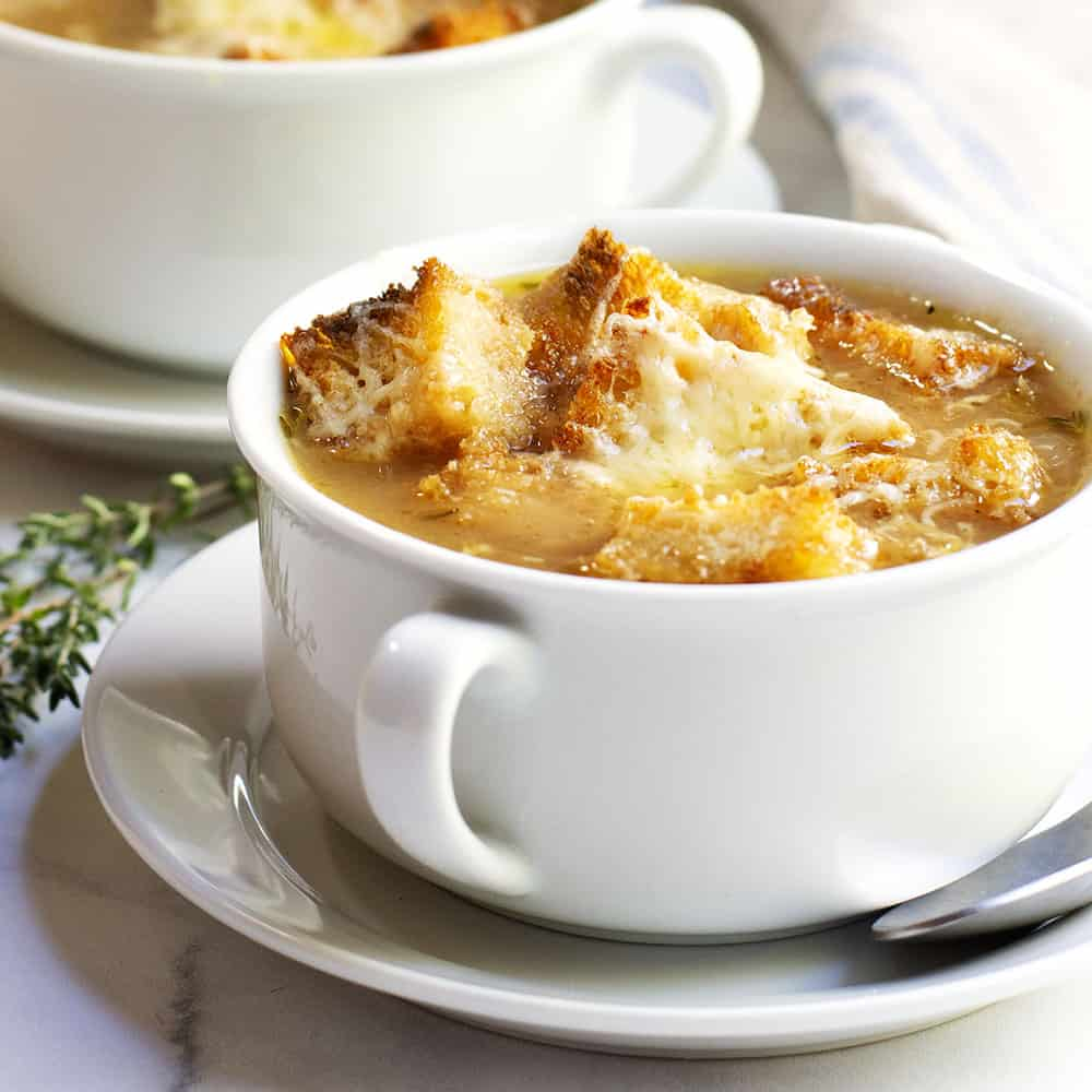 Classic French Onion Soup Recipe - Pinch and Swirl