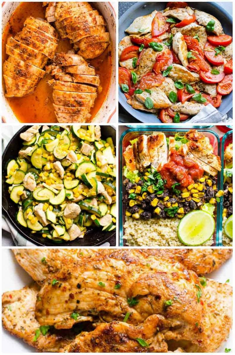 45 Easy Healthy Dinner Ideas in 30 Minutes - iFOODreal - Healthy ...