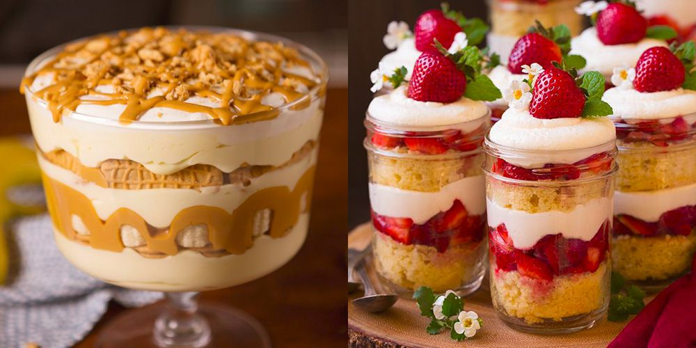21 Easy Trifle Recipes - How to Make a Christmas Trifle