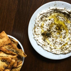 Labneh with Olive Oil and Za