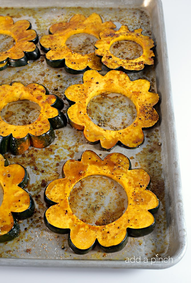 Maple Roasted Acorn Squash Recipe - Add a Pinch