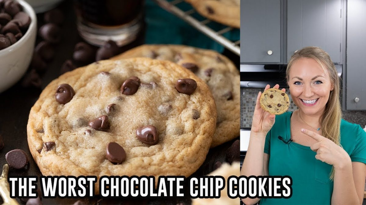 How to Make The Worst Chocolate Chip Cookies - YouTube