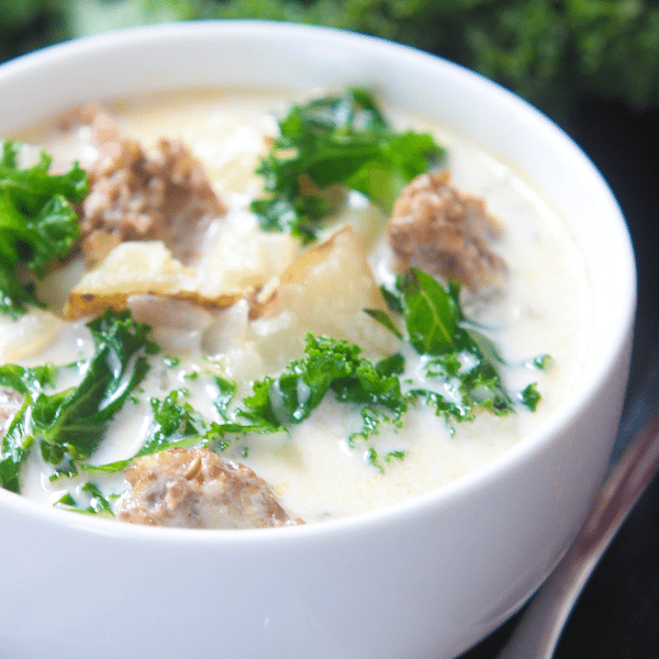 Olive Garden Zuppa Toscana - High Heels and Grills
