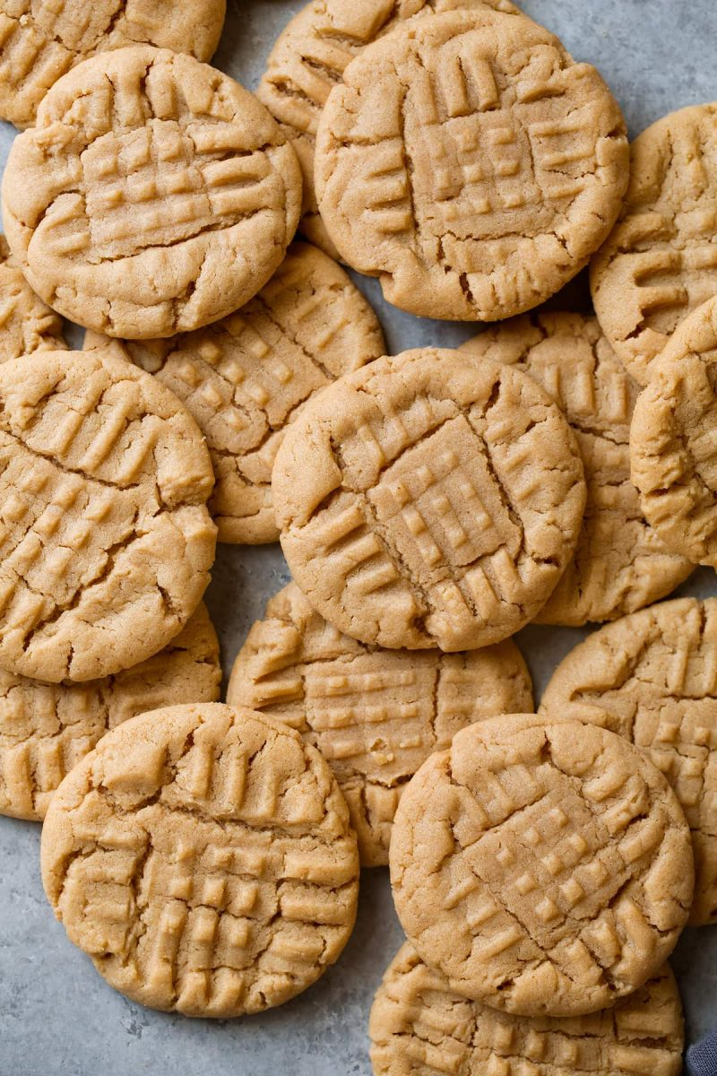 Peanut Butter Cookies {Best Easy Recipe! With Video} - Cooking Classy