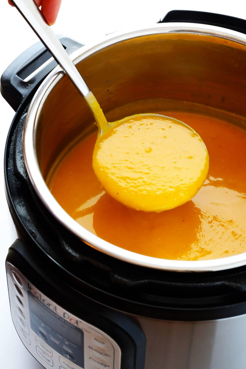 Instant Pot Butternut Squash Soup | Gimme Some Oven
