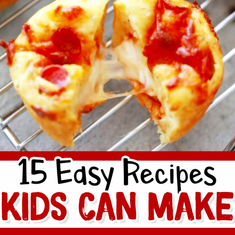 15 Fun & Easy Recipes for Kids To Make - Involvery