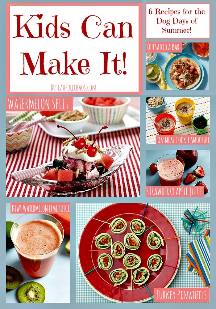 Kids Can Make It! Recipes for the Dog Days of Summer! – Erica R ...