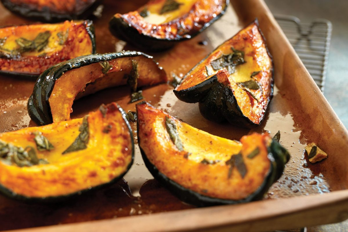 Roasted Acorn Squash and Honey recipe | Epicurious