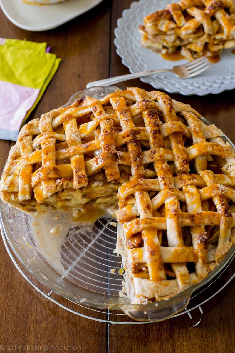 Salted Caramel Apple Pie | Sally