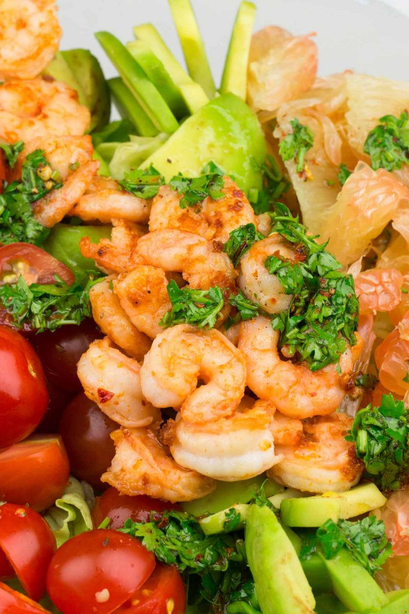 A Shrimp Salad Recipe That Actually Works For Every Weekend