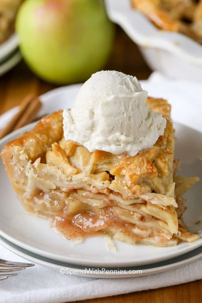 Apple Pie Recipe - Spend With Pennies