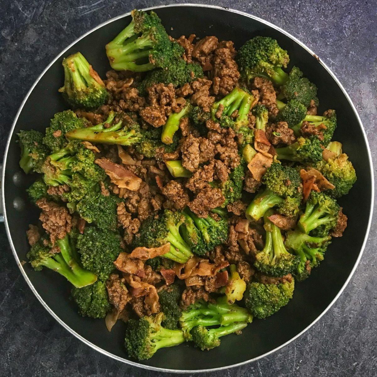Sticky Sweet Ground Beef and Broccoli: A High Protein, Low Carb Recipe