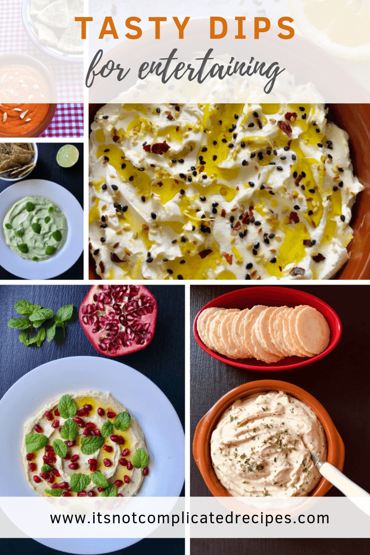 Tasty Dips for Entertaining - It