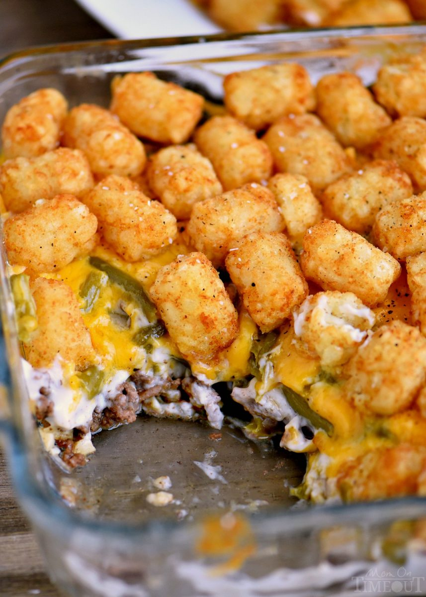 The BEST Tater Tot Casserole - Mom On Timeout