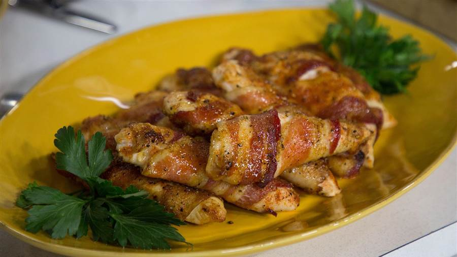 Bacon-Wrapped Chicken Tenders - TODAY