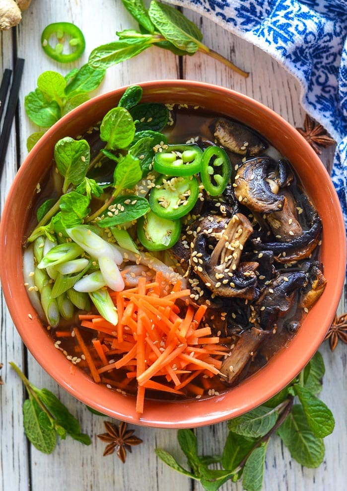 Udon Noodle Soup - Easy, healthy, light & refreshing - A Virtual Vegan