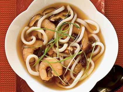 Udon Soup with Shrimp Recipe | MyRecipes