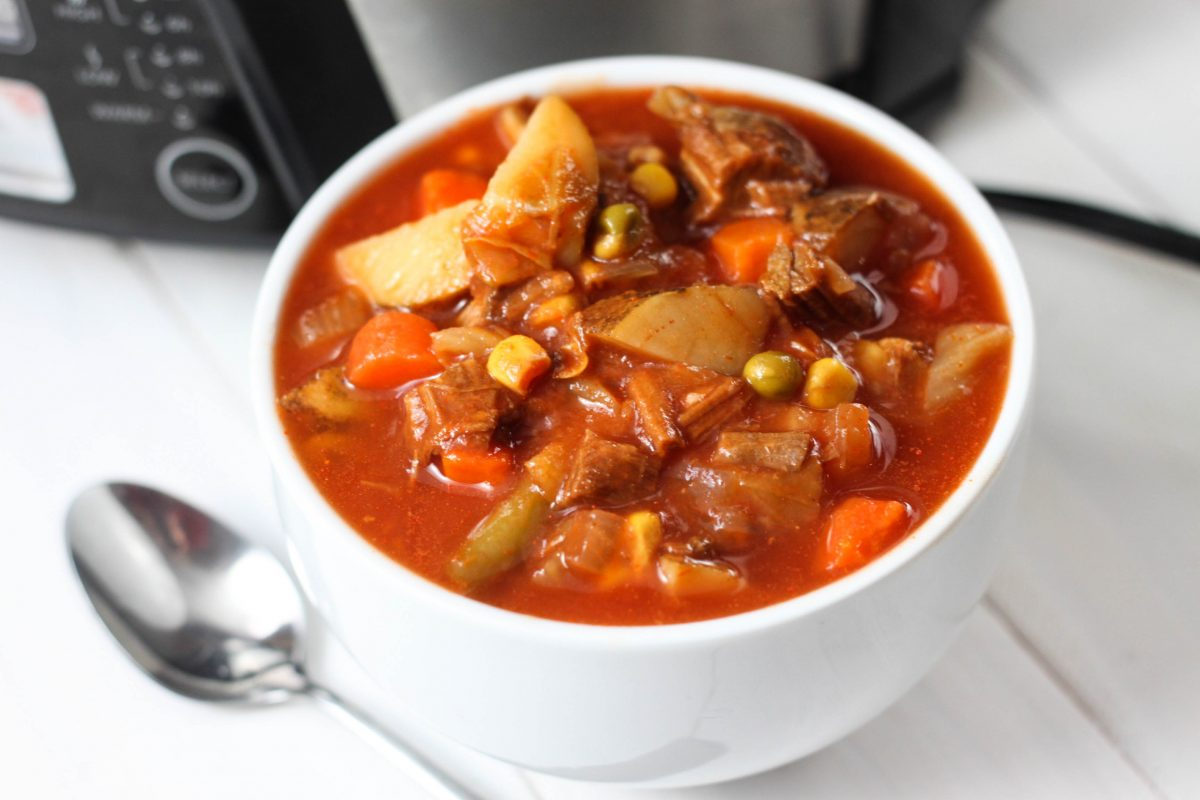 Vegetable Beef Soup - The Farmwife Cooks