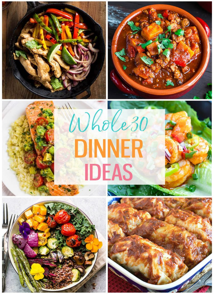 20 Delicious Whole 30 Dinner Ideas - The Girl on Bloor