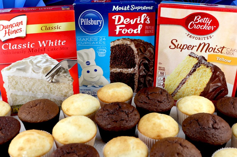 Working with Cake Mixes - Two Sisters