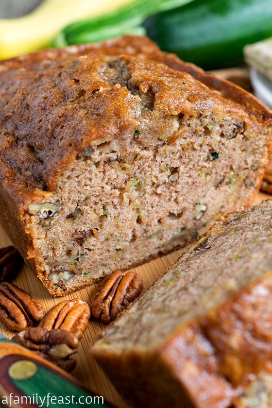 Best Zucchini Bread Ever - A Family Feast®