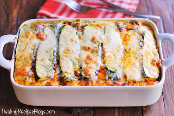 Zucchini Lasagna Recipe, Keto and Low Carb | Healthy Recipes