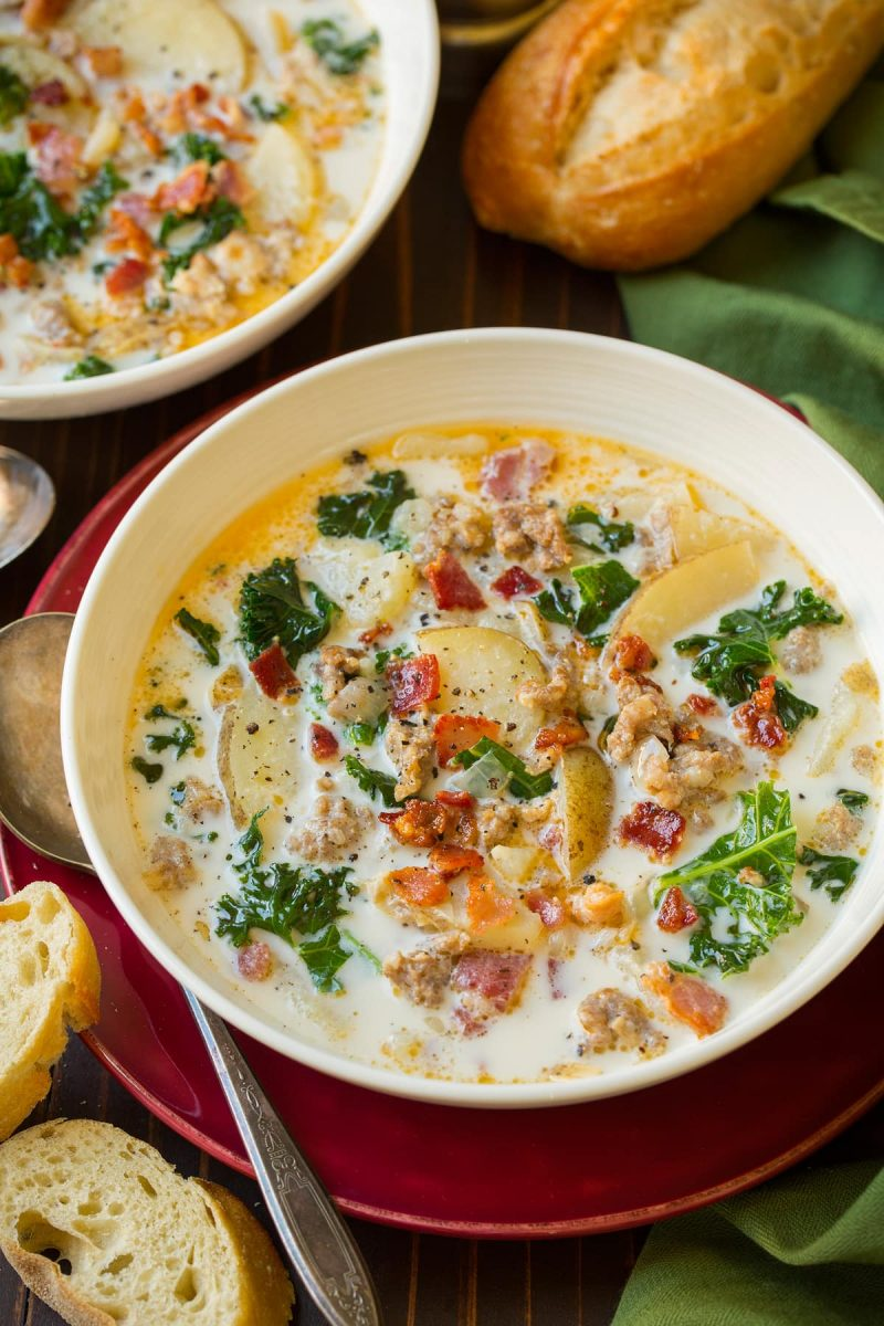 Zuppa Toscana Soup (Olive Garden Copycat) - Cooking Classy