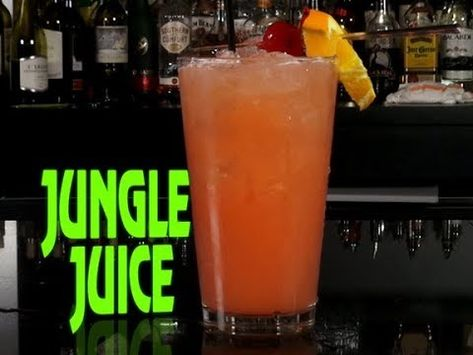 Booze on a Budget - The $40 Jungle Juice - Tipsy Bartender ...