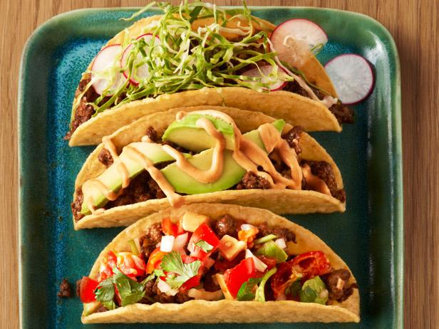 50 Tacos : Recipes and Cooking : Food Network   Recipes, Dinners ...