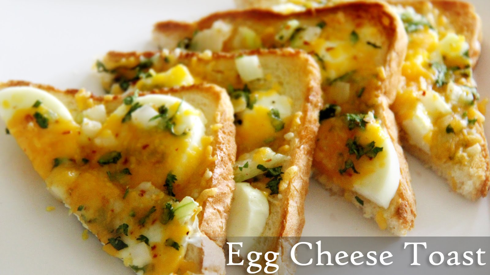 Egg Cheese Toast Recipe | Quick Toast Recipes- Indian Easy Egg ...