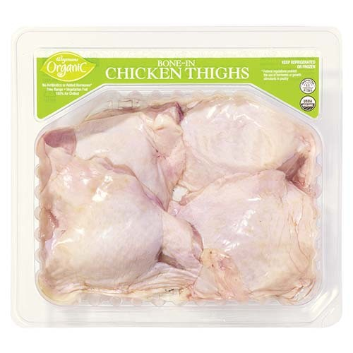 Bone-In Chicken Thighs - Wegmans