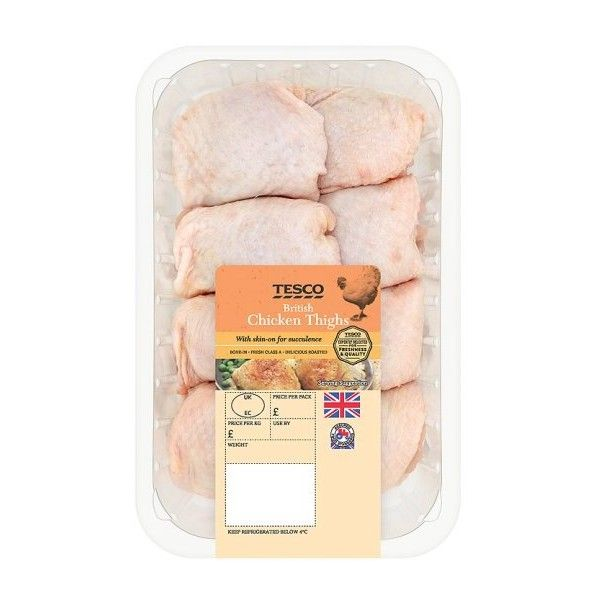 Tesco British Chicken Thighs 1Kg ❤ liked on Polyvore featuring ...