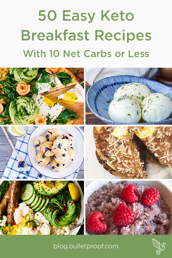 50 of the Best Easy Keto Breakfast Recipes With 10 Net Carbs or Less