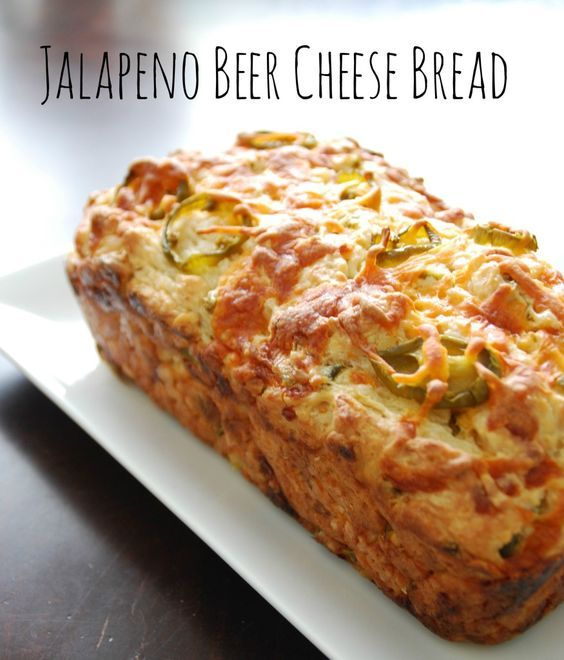 Super Yummy Jalapeño Cheese and Beer Bread Recipe!! | Food ...