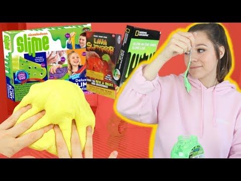 I Tried To Find The Best Slime Kit!!! *the worst slime I