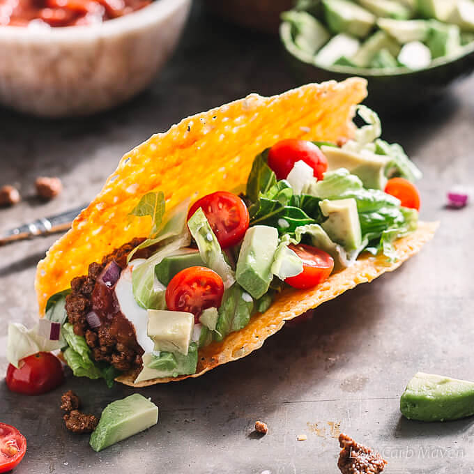 Best Ground Beef Taco Recipe (Low Carb, Keto) | Low Carb Maven
