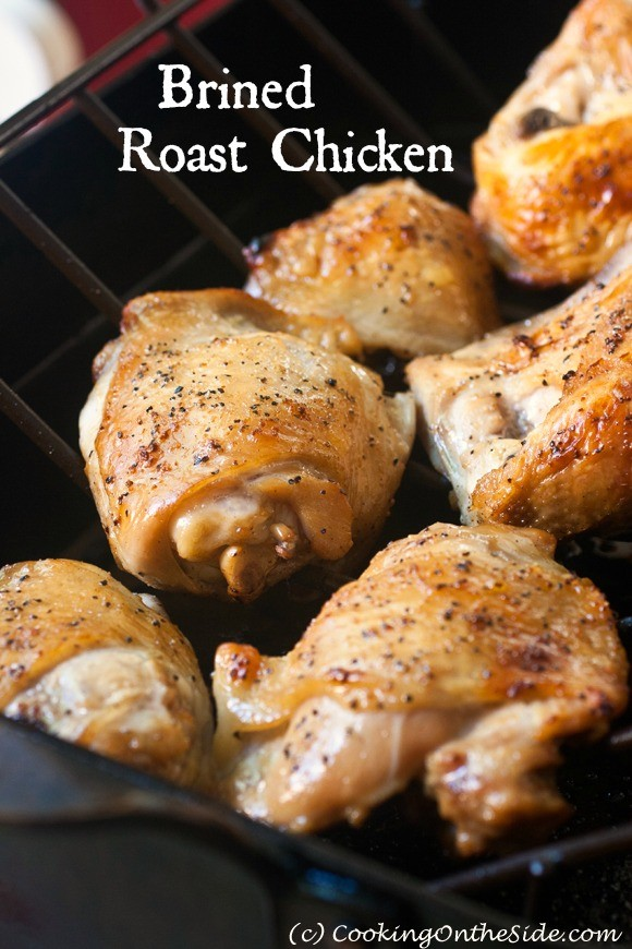 Recipe: Brined Roast Chicken | Cooking On the Side
