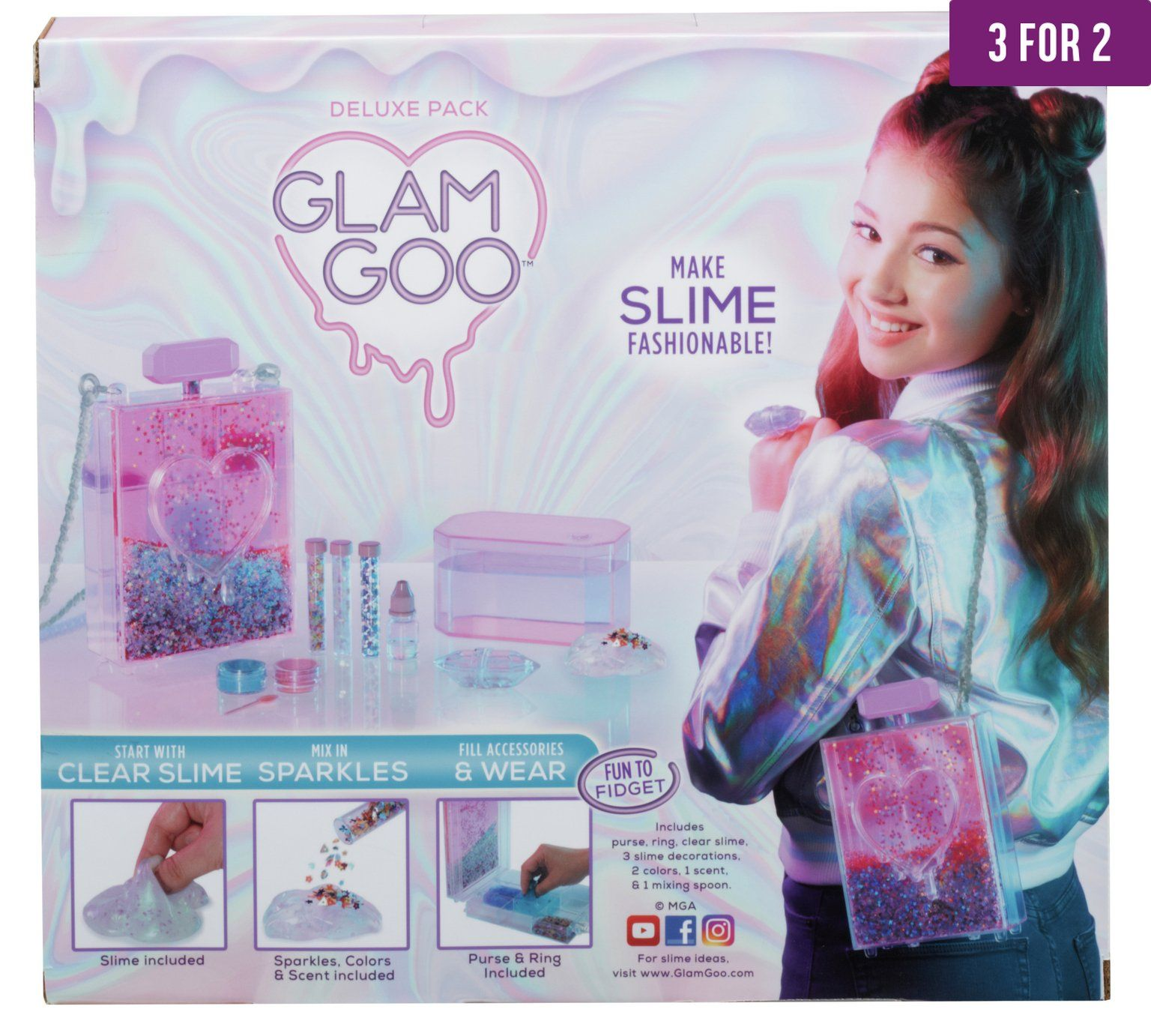 Izzy really wants this- Buy Glam Goo Deluxe Slime Pack at Argos.co ...