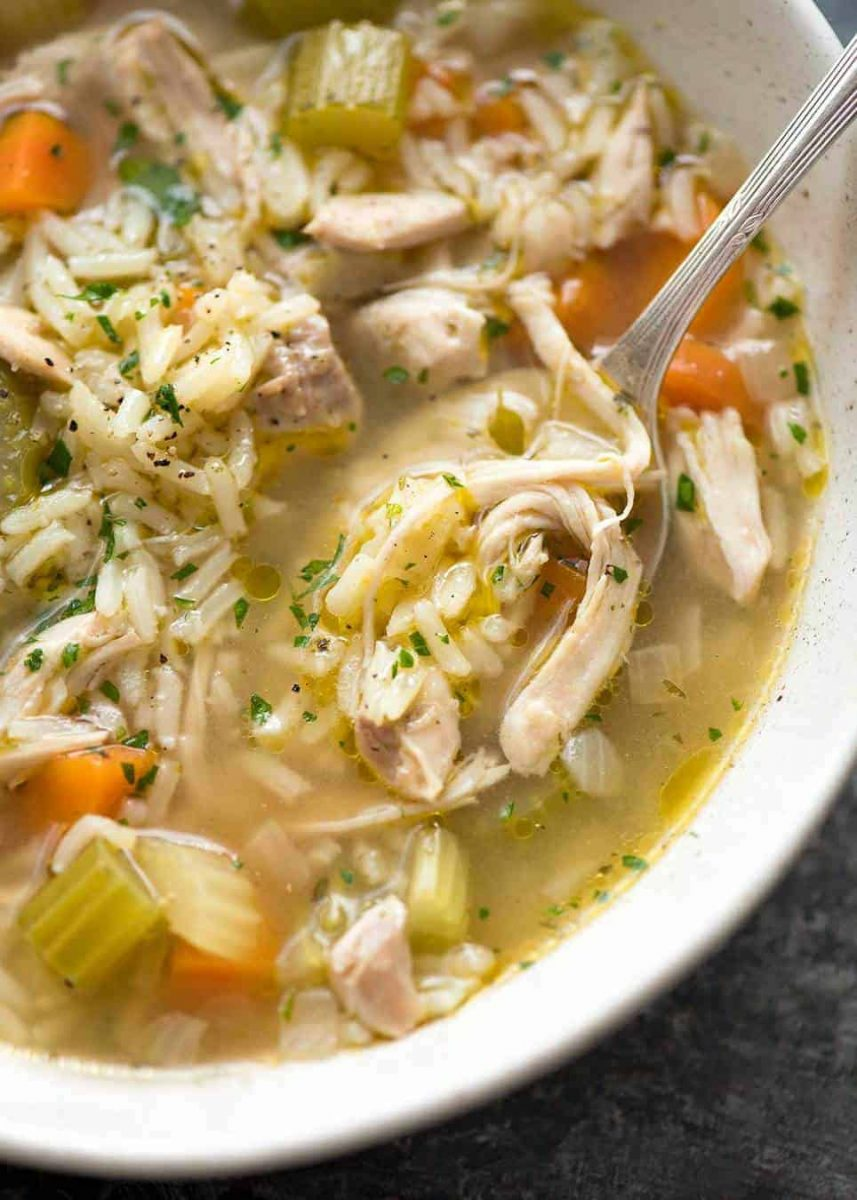 Chicken and Rice Soup | RecipeTin Eats