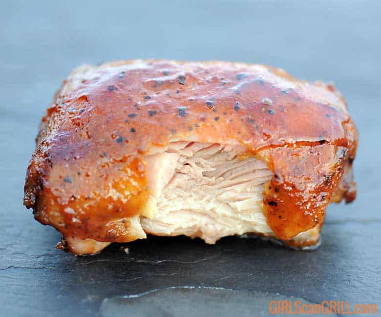 Competition Chicken Thighs   Step-By-Step Photos   Girls Can Grill