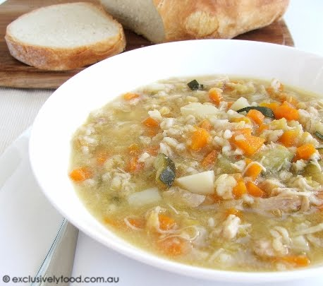 Exclusively Food: Chicken and Vegetable Soup