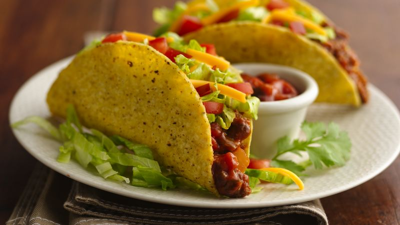 Easy Beef Tacos Recipe - BettyCrocker