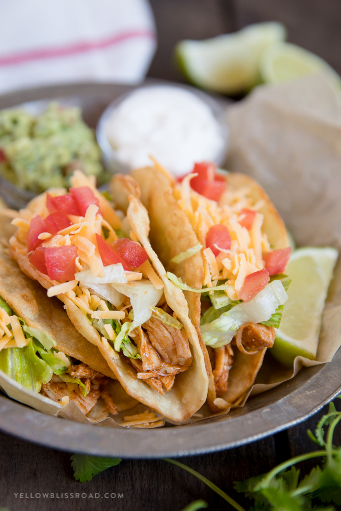 The Best Chicken Tacos You