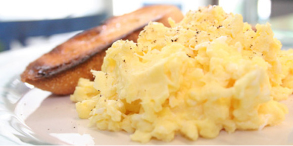 The Best Scrambled Eggs Recipe - At Home with Kim Vallee