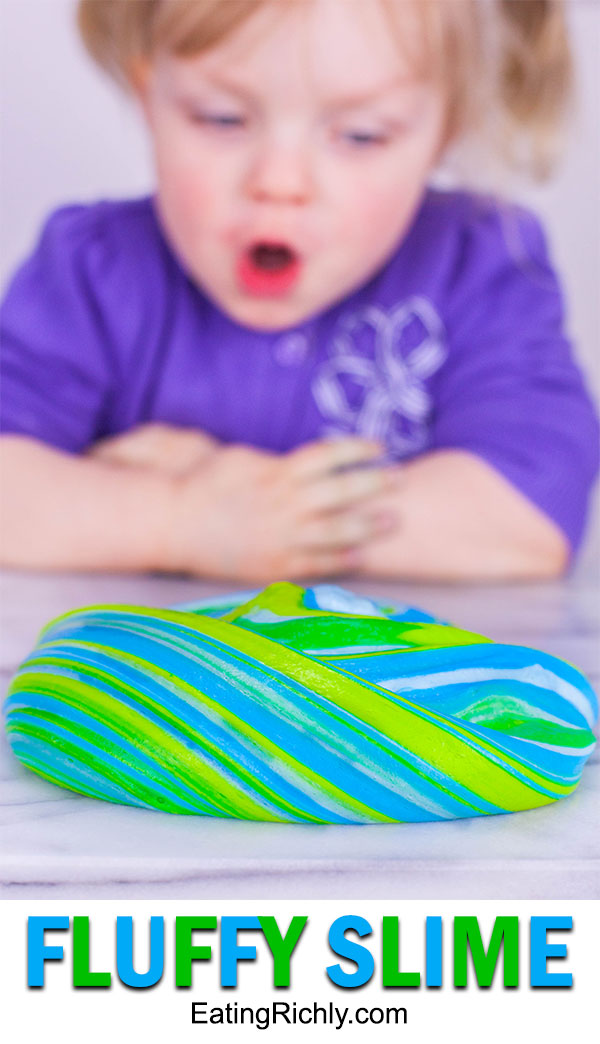 Fluffy Slime Recipe Without Borax - It