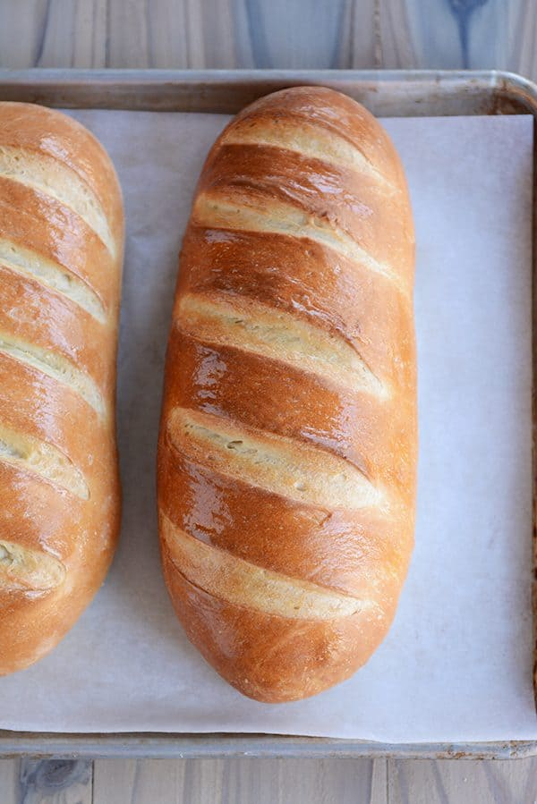 Easy Homemade French Bread Recipe | Mel
