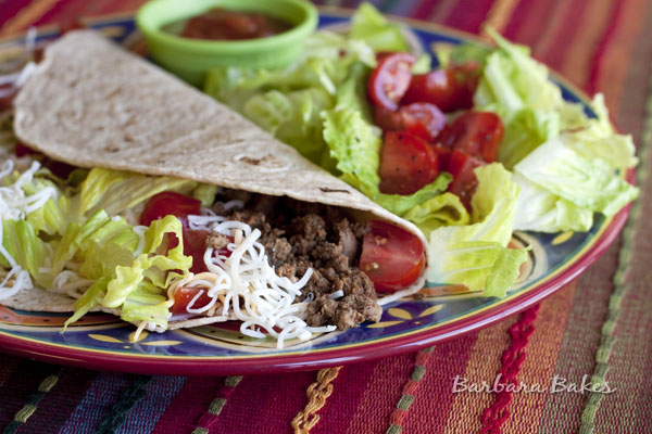 Easy Ground Beef Tacos Recipe | Barbara Bakes